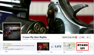 Dallas McLaughlin Gun Rights Facebook Campaign