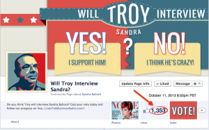 Will Troy Interview Sandra?