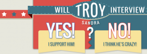 Will Troy Interview Sandra