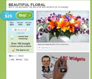 Deal Site + Video = Higher Conversions