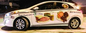 Restaurant Car Wrap