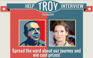 Help Troy Interview Sandra Bullock