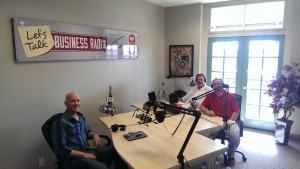 Johnny G - Let's Talk Business Radio Studio 88