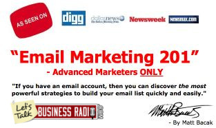 Email Marketing with Matt Bacak